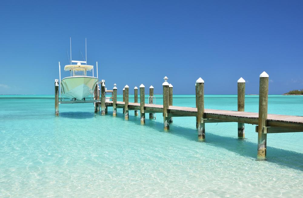 Exuma Bay Bahamas