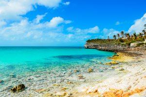 Eleuthera island beach on bahamas yacht charter