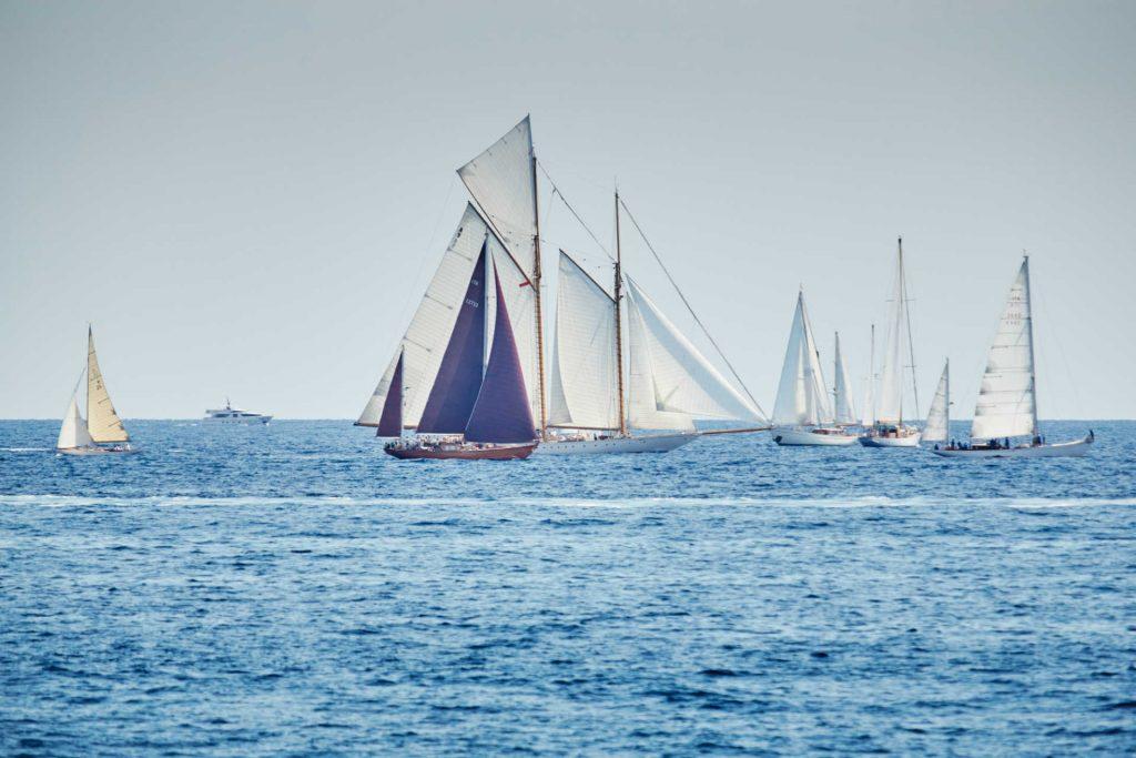 La belle classe old wooden yacht regatta